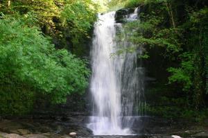 Waterfall on Blaen y Glyn