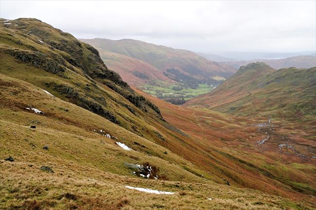 Helm Crag and Steel Fell