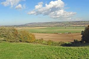 Looking over the Risborough Gap