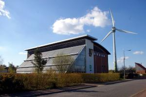 Ecotech Centre and turbine