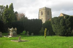 Powick Church just before Point 4