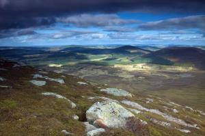 Moray from Ben Rinnes