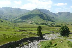 Bowfell (&The Band) at head of Great Langdale